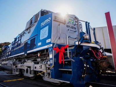 Entrega da 500ª Locomotiva Corrente Alternada AC44